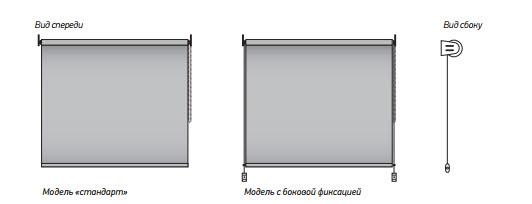 Модели со стандартной и боковой фиксацией