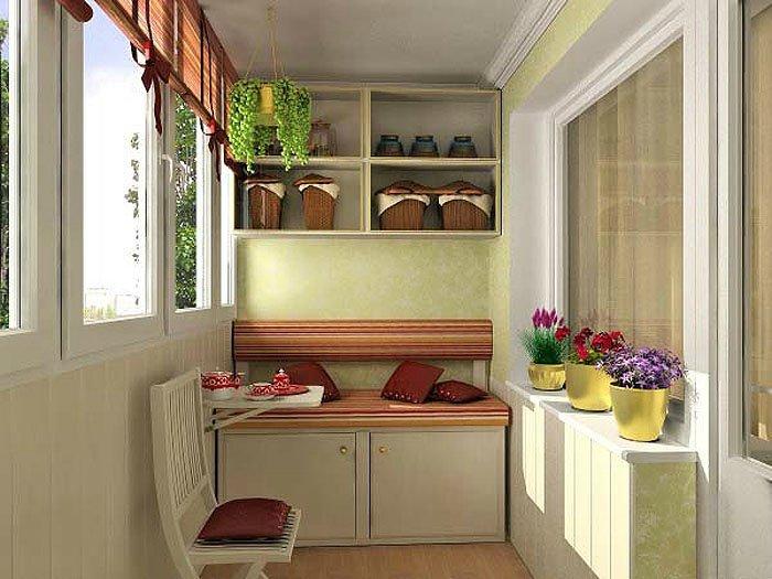 Дизайн балконов своими руками фото